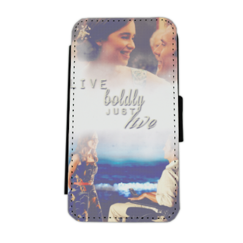 me before you Flip cover laterale iphone 5