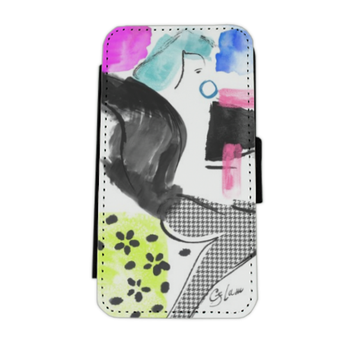 Glamour Flip cover laterale iphone 5