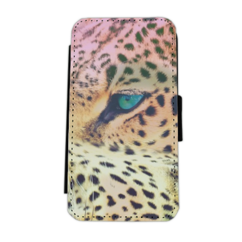 Leopard Flip cover laterale iphone 5