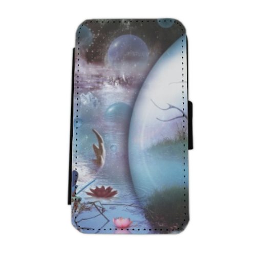 Another World Flip cover laterale iphone 5