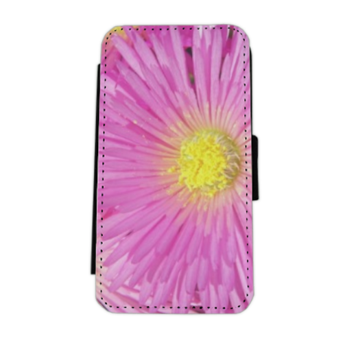Fuchsia Flip cover laterale iphone 5