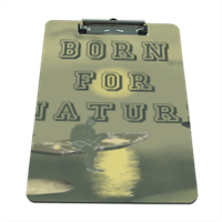 Born for Nature Portablocco grande in masonite