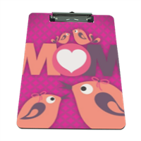 Mamma I Love You - Portablocco grande in masonite