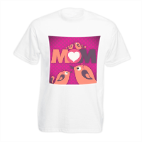 Mamma I Love You - T-shirt bambino in cotone