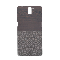 Wenge and Gothic Cover Oneplus One 3D