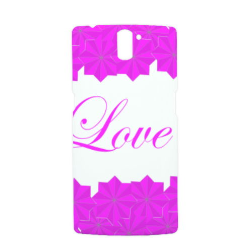 Roseventi Love Cover Oneplus One 3D