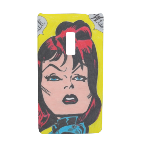 BLACK WIDOW Cover Oneplus 2 3D