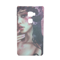 Oriental Woman Cover Huawei Mate S 3D