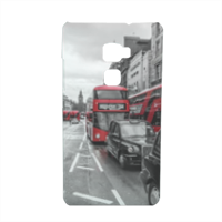 London red and white Cover Huawei Mate S 3D