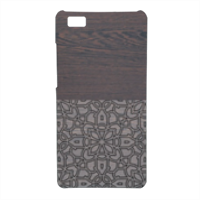 Wenge and Gothic Cover Huawei P8 Lite 3D