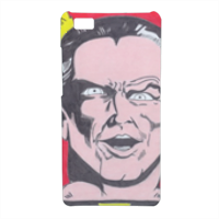 BLACK ADAM Cover Huawei P8 Lite 3D