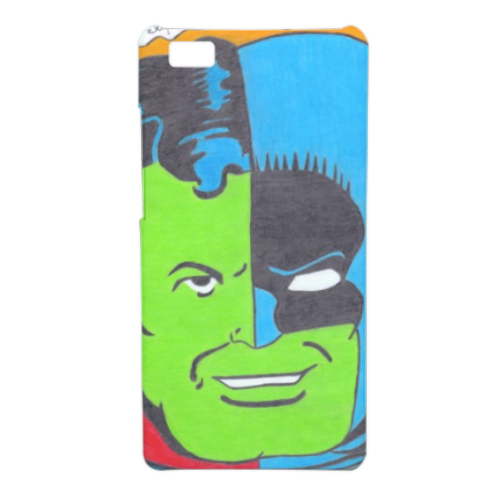 THE COMPOSITE SUPERMAN Cover Huawei P8 Lite 3D
