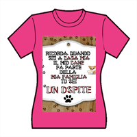 Dog Tablet  T-shirt donna in cotone