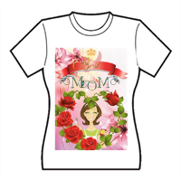 Best Mom T-shirt donna in cotone