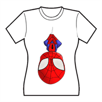 Spiderman T-shirt donna in cotone
