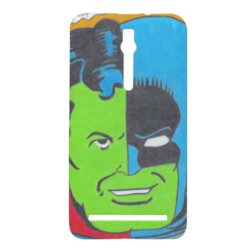 THE COMPOSITE SUPERMAN Cover Asus Zenfone 2 3D