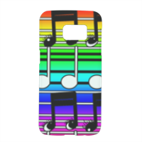 note musicali Cover Samsung Galaxy S7 3D