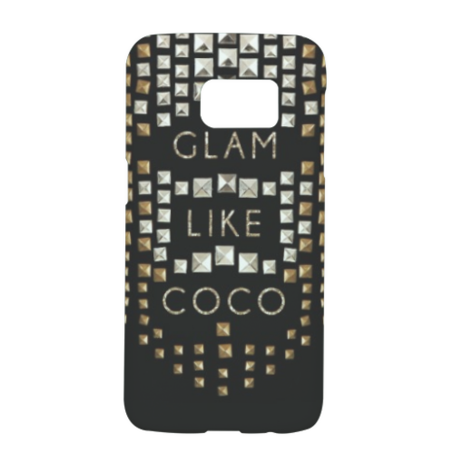 Glam Like Coco Cover Samsung Galaxy S7 3D