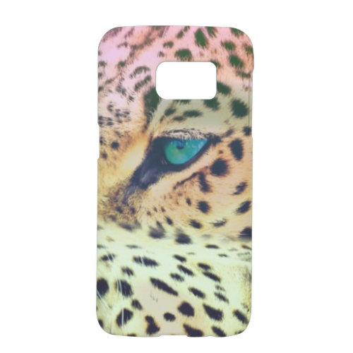 Leopard Cover Samsung Galaxy S7 3D