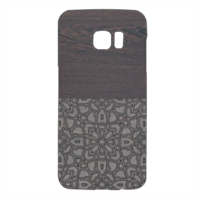 Wenge and Gothic Cover Samsung Galaxy S7 Edge 3D