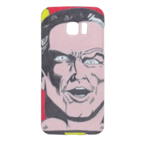 BLACK ADAM Cover Samsung Galaxy S7 Edge 3D