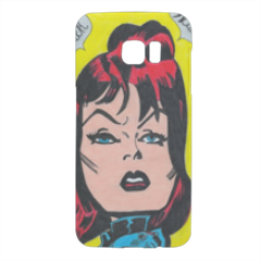 BLACK WIDOW Cover Samsung Galaxy S7 Edge 3D