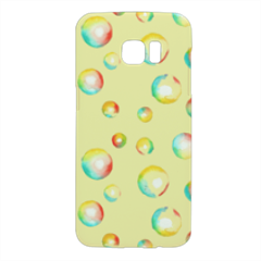 bolle di acquerello Cover Samsung Galaxy S7 Edge 3D