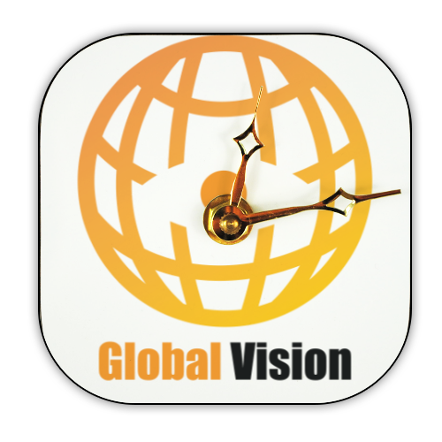 Global vision Foto su Orologio Retro