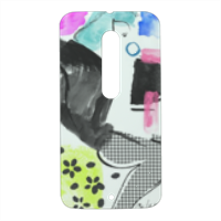 Glamour Cover Motorola Moto X Style 3D