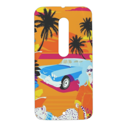 Rich Summer  Cover Motorola Moto X Style 3D