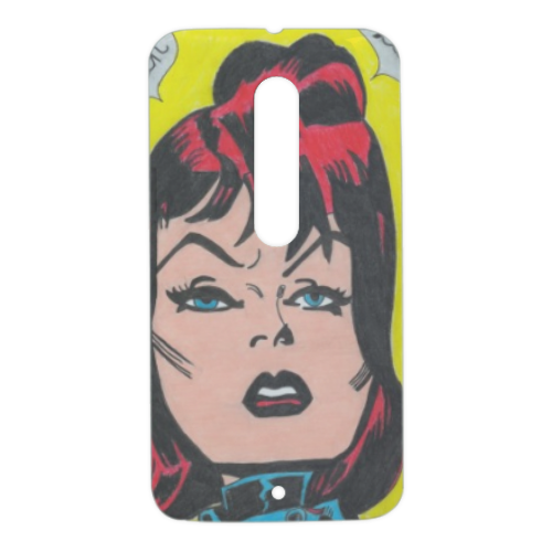 BLACK WIDOW Cover Motorola Moto X Style 3D