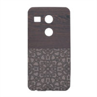 Wenge and Gothic Cover LG Nexus 5x 3D