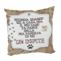 Dog Tablet  Foto su Cuscino fashion