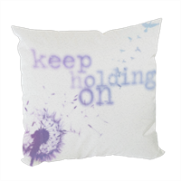 keep holding on Foto su Cuscino fashion