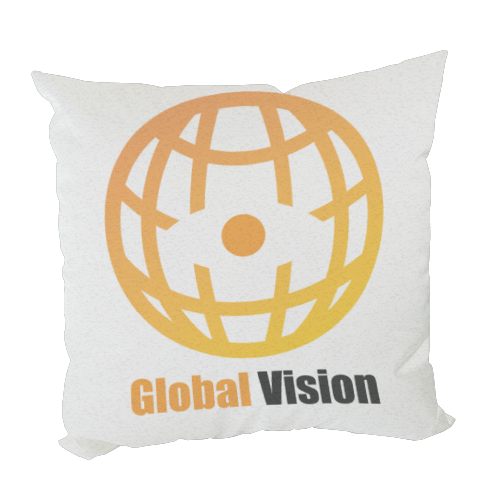 Global vision Foto su Cuscino fashion