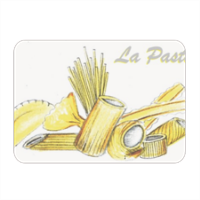 W La pasta Sottopiatto in masonite