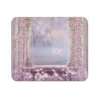 Enchanted Lake Mousepad in masonite