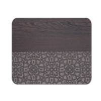 Wenge and Gothic Mousepad in masonite