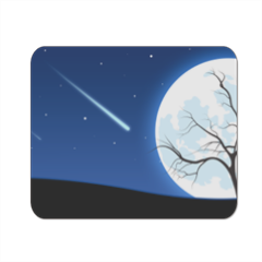 Notte Magica Stellata Mousepad in masonite