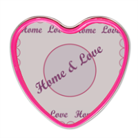 Home and Love Candela profumata personalizzata