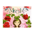 Best Mom Tappeto in gomma 80x60