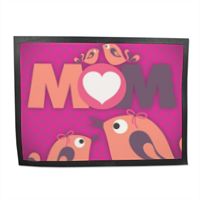 Mamma I Love You - Tappeto in gomma 80x60