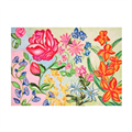 New Flowers Puzzle in Legno Small