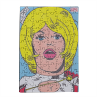 POWER GIRL Puzzle in Legno Small