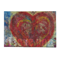 I love you Puzzle in Legno Small