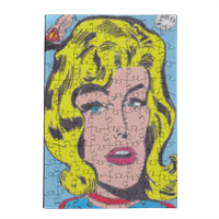 SUPERGIRL Puzzle in Legno Small