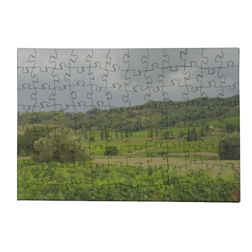 Temporale in Toscana Puzzle in Legno Small