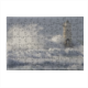 Lighthouse with waves Puzzle in Legno Small
