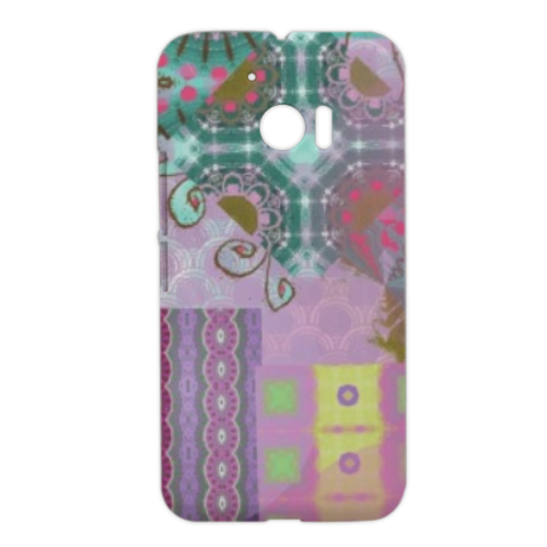 Astratto colorato Cover HTC M10 3D
