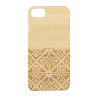 Bamboo and Gothic Cover iPhone 7 3D